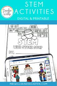 The soldier cut up the cabbage and added it to the pot. Digital Stem Activities For Your Favorite Traditional Tales