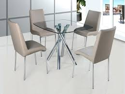 glass breakfast table and chairs amazing glass dining table and chairs set round dining glass top