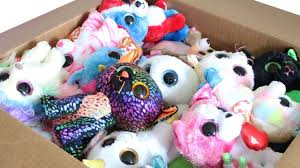 TY Beanie Boos Haul MASSIVE Mystery Box with Exclusives Unboxing Toy Rev...  | Beanie boos, Boo plush, Ty beanie boos