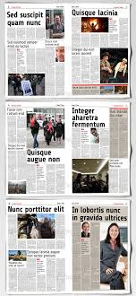 50 Hq Newspaper Mockups And Templates 2019 Psd Indesign