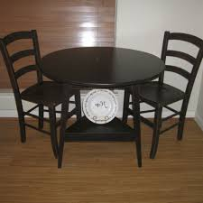 Small Round Black Kitchen Table And Chairs Archives
