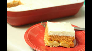 pumpkin crunch dump cake with cream cheese frosting