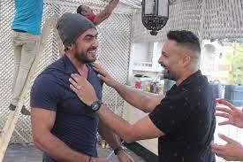 عداوة بعد صحوبية .. صور تكشف صداقة العوضى ووائل عبد العزيز فى كواليس لآخر  نفس - اليوم السابع