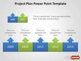 Planning A Presentation Template Free Project Plan Powerpoint Template