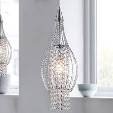 crystal pendant lighting. Xyza 1-Light Crystal Pendant Lighting U