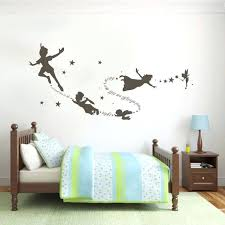 peter pan wall decals peter pan wall decal removable kid second star e vinyl decor peter pan wall decal shadow