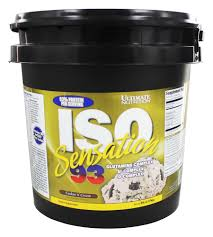 ultimate nutrition iso sensation 93 cookies n cream 5 lbs at luckyvitamin