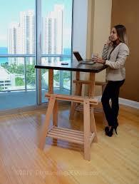 Standing Desk Extension The Height Adjustable Diy Standing Desk Ikea Conversion Kit