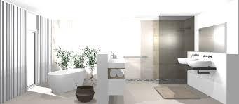 Modernes Badezimmer Mit Freistehender Badewanne Bad