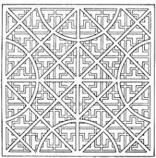 Small Picture Pretentious Geometric Coloring Pages For Adults Abstract Doodle