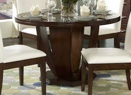 Round Smoked Glass Dining Table Round Glass Dining Table Dining Room Sets From Iron Nice Looking