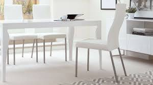 modern real leather dining chairs genuine soft metal legs