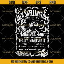 Jack skellington, the pumpkin king of halloween town, is bored with doing the same thing every year for halloween. Jack Skellington Svg Halloween Town Svg Nightmare Before Christmas Svg Svgsunshine