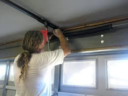 genie low headroom garage door opener overhead repair