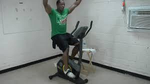 13min beginner bike weight loss workout