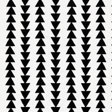 Arrow Pattern Interesting Onyx Arrow Stripe Fabric By The Yard Black Fabric Carousel Designs