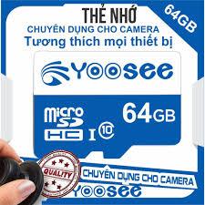 Thẻ nhớ Micro SD dùng cho camera wifi YOOSEE 16G/32G/64G