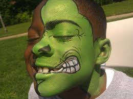 the hulk x3 iiimagine s party face smiling s festival