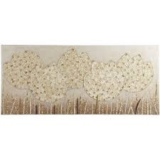 pier one embroidered tulips wall art
