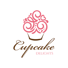 Cool Delight Luxurious Ice Creams And Cupcakes Logo Design Gallery