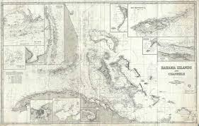 Bahama Islands And Channels Geographicus Rare Antique Maps