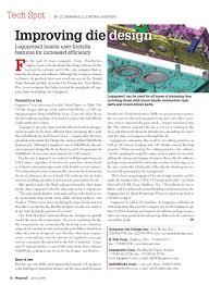 Accurate Die Design Inc Magazine Articles Accurate Die Design