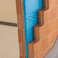 soundproofing panel waterproof and incombustible suitable for the realization of stratified walls made of a double layer of 20 mm thick rock wool and