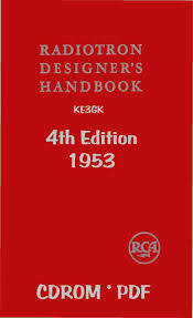 Radiotron Designers Handbook 8 99 Rca Radiotron Designers Handbook 4th Edition 1953