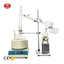 China 2L <b>5L 10L 20L</b> Laboratory Glass Distillation Cbd Short Path ...