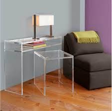 Custom Acrylic Furniture | Clear Lucite Desk | Lucite Desk