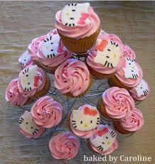 Hello Kitty Hello Kitty Cupcakes On A Cupcake Tree Cute C Flickr