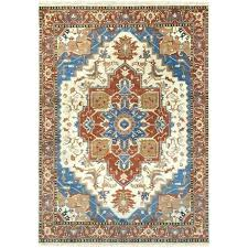 orange and blue area rug orange and blue area rug hand knotted orange blue area rug