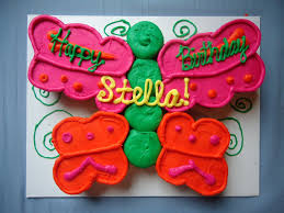 Walmart Cupcake Cakes Kraftykym Target Bakery Butterfly Cake