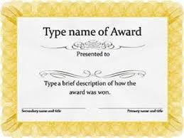 Download Award Certificate Templates Awards Certificates Templates Free Download Bing Images