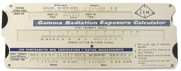 Radiation Exposure Chart Jem Gamma Radiation Exposure Calculator For Industrial