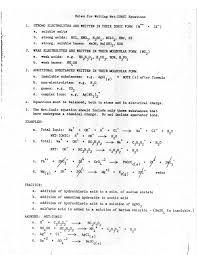 net ionic equation how to