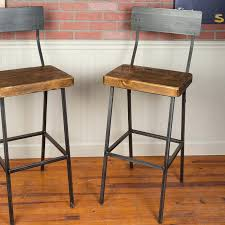 36 Bar Stools Industrial Farm Stool 33 Inch Bar Stools E73
