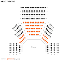 Sixth And I Seating Chart Studio Theatre Seating Charts