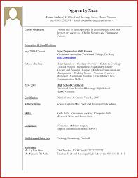 Proper Resume Format 3 Medmoryapp Com