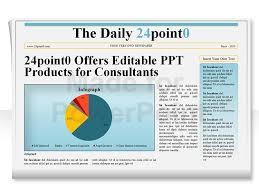 Newspaper Powerpoint Template Best Editable PowerPoint Newspapers Template