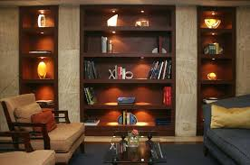 bookcases bookcase lighting ideas lights for within designs 5 living room bookcase lighting i88 bookcase