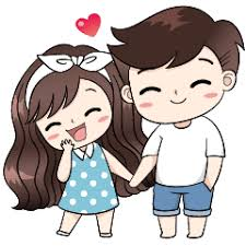 Cute Couple Png Boobib Cute Couple Line Stickers Line Store