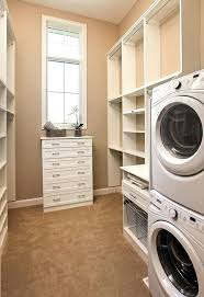 laundry in master closet idea for tiny back porch laundry off kitchen sink in place of dresser walk in closet with laundry room laundry room in walk in