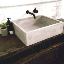 um image for 25 best ideas about concrete sink on bathroom basin and bathroomconcrete vessel