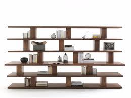 cabinet  storage stylish solid wood bookcase unique design  open