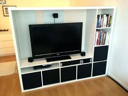 build your own entertainment center floating shelves how to an around electric fireplace