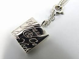 authentic tiffany co notes square necklace 925 silver pendant top reebonz brunei darussalam