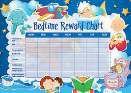 Bedtime Charts Free Bedtime Reward Chart For Kids Sticker Rewards Chart For Kids