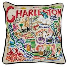embroidered charleston south carolina pillows meredith dlatt williamson it s so pretty city of charleston
