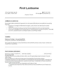 Canada Resume Examples Bookkeeper Resume Sample Bookkeeper Resume